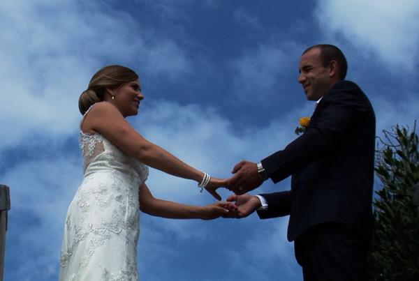 Sky Wedding Couple