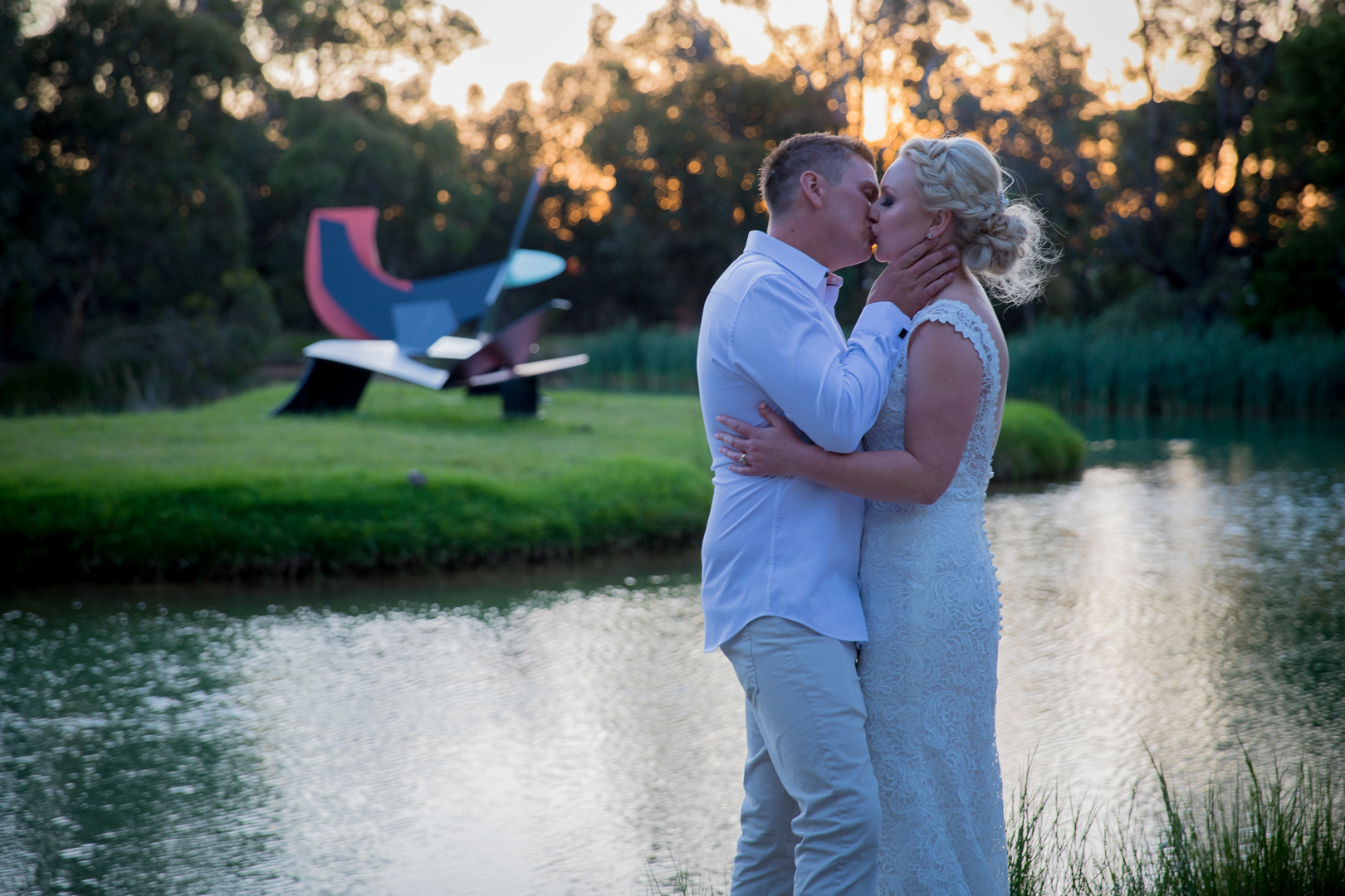 Sarah and Chris Wedding photography and cinematography Mornington Peninsula