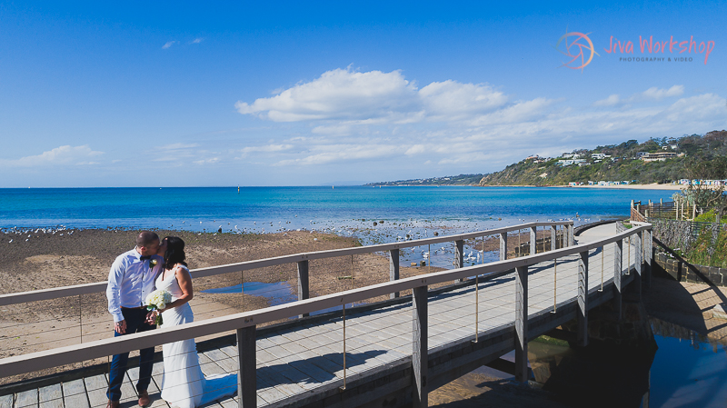 beach wedding, Mornington, Mornington Peninsula, wedding photography, professional