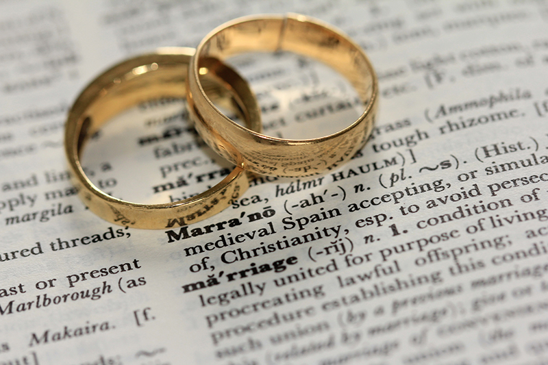 Marriage Certificate Rings