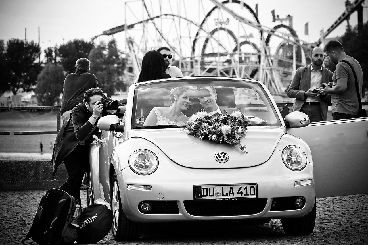 Wedding Photographer Car