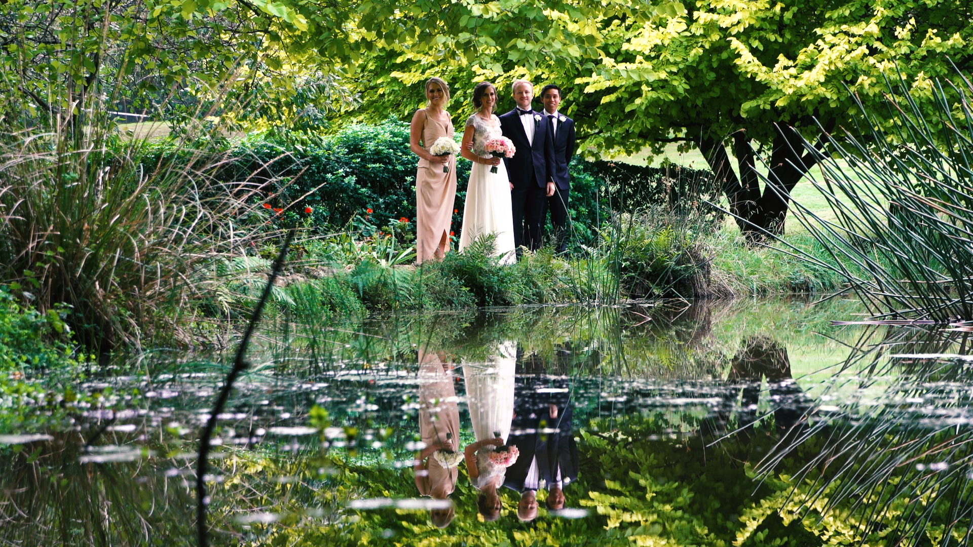 Lakeside Bridal party