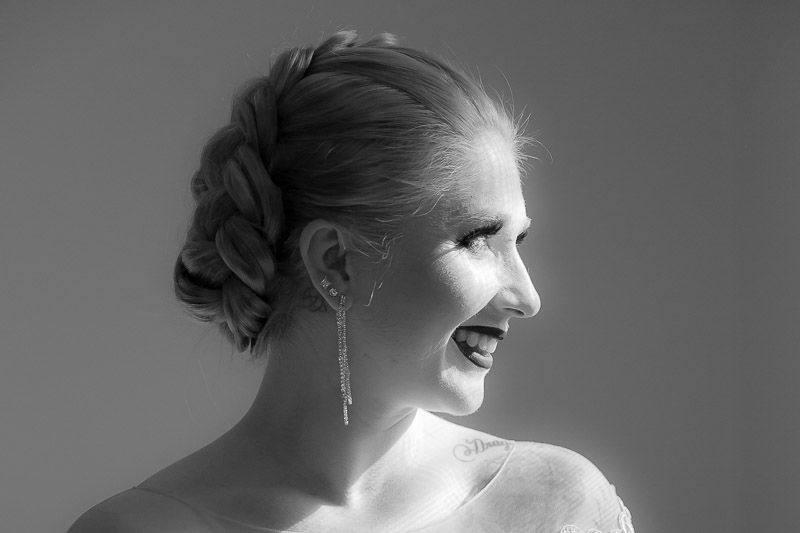 Bride Black and white