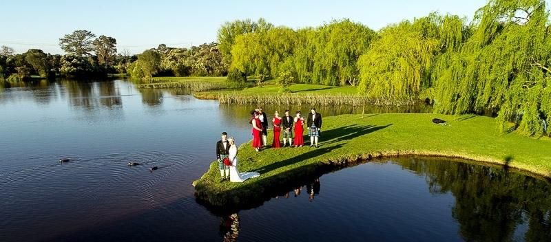 Bridal Party Critenden Drone