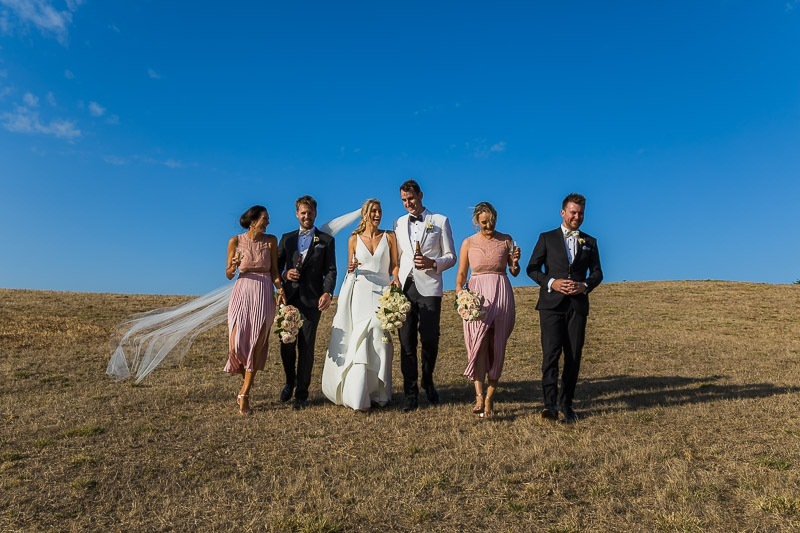 Big Sky Bridal Party
