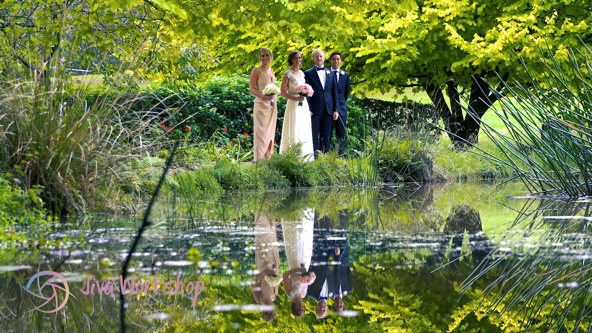 Lily Pond Wedding Lindenderry