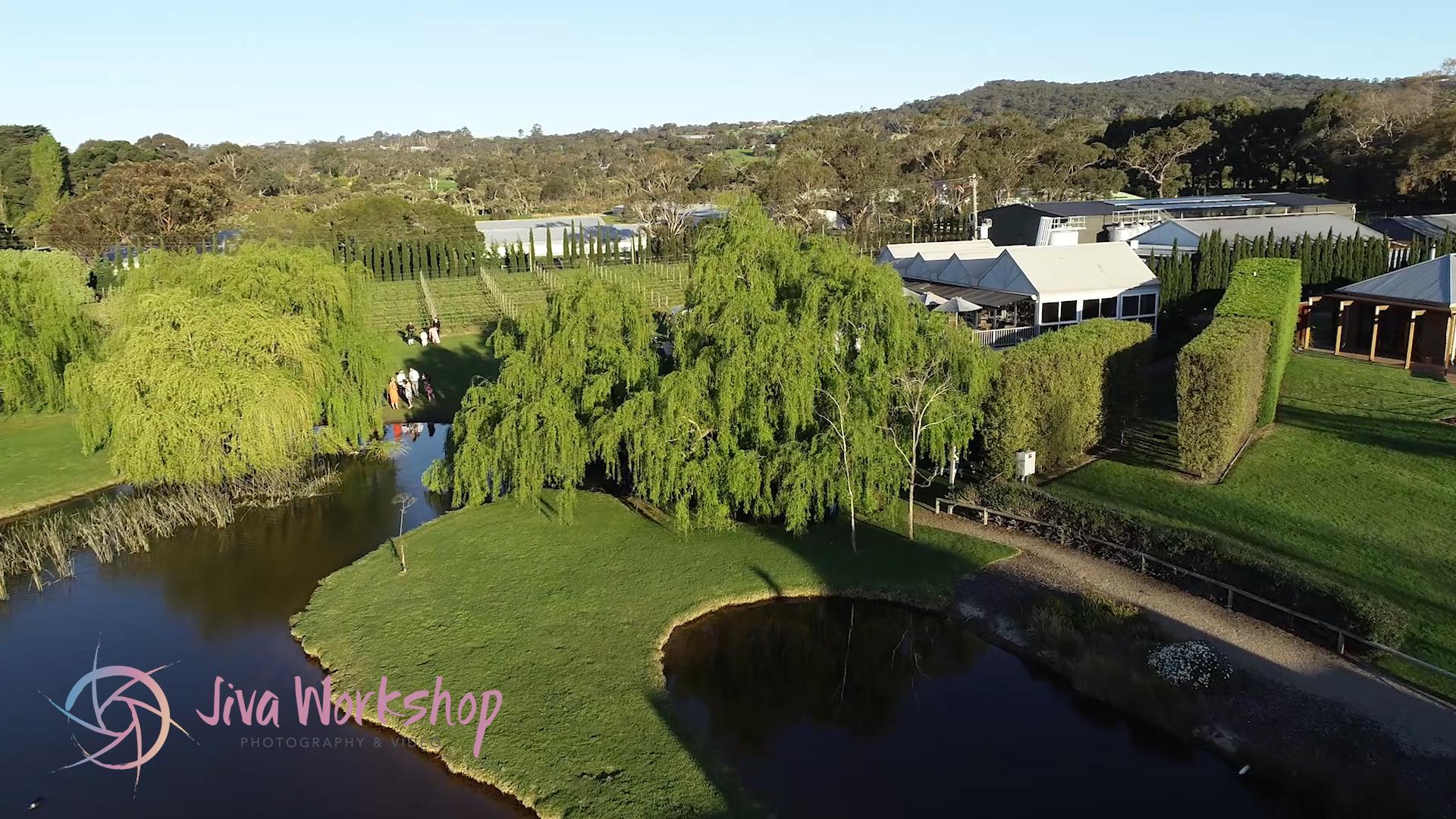 Drone view of Stillwater at Critenden