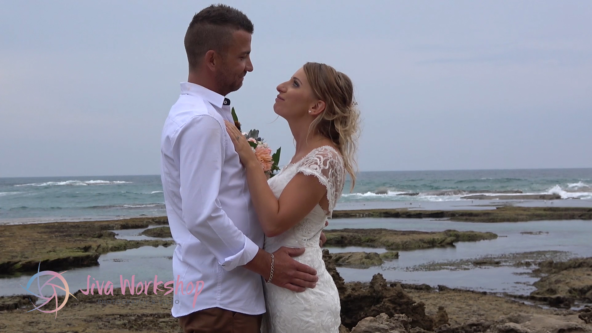All smiles Sorrento Back Beach wedding