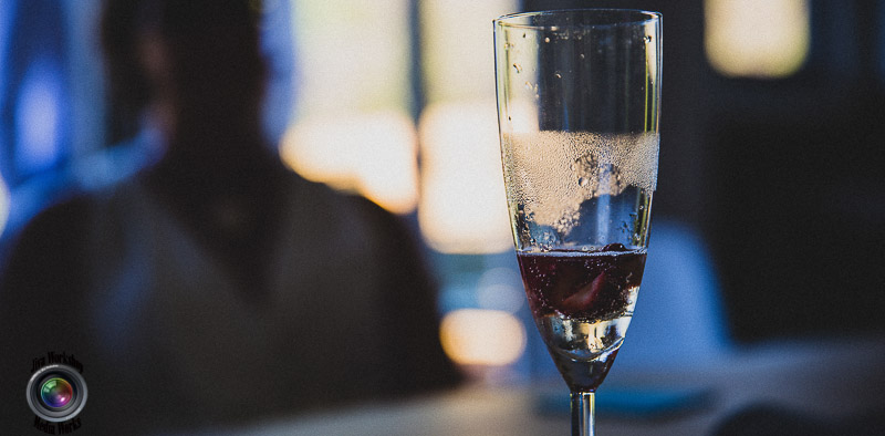 Glass Champagne Video Wedding Photography