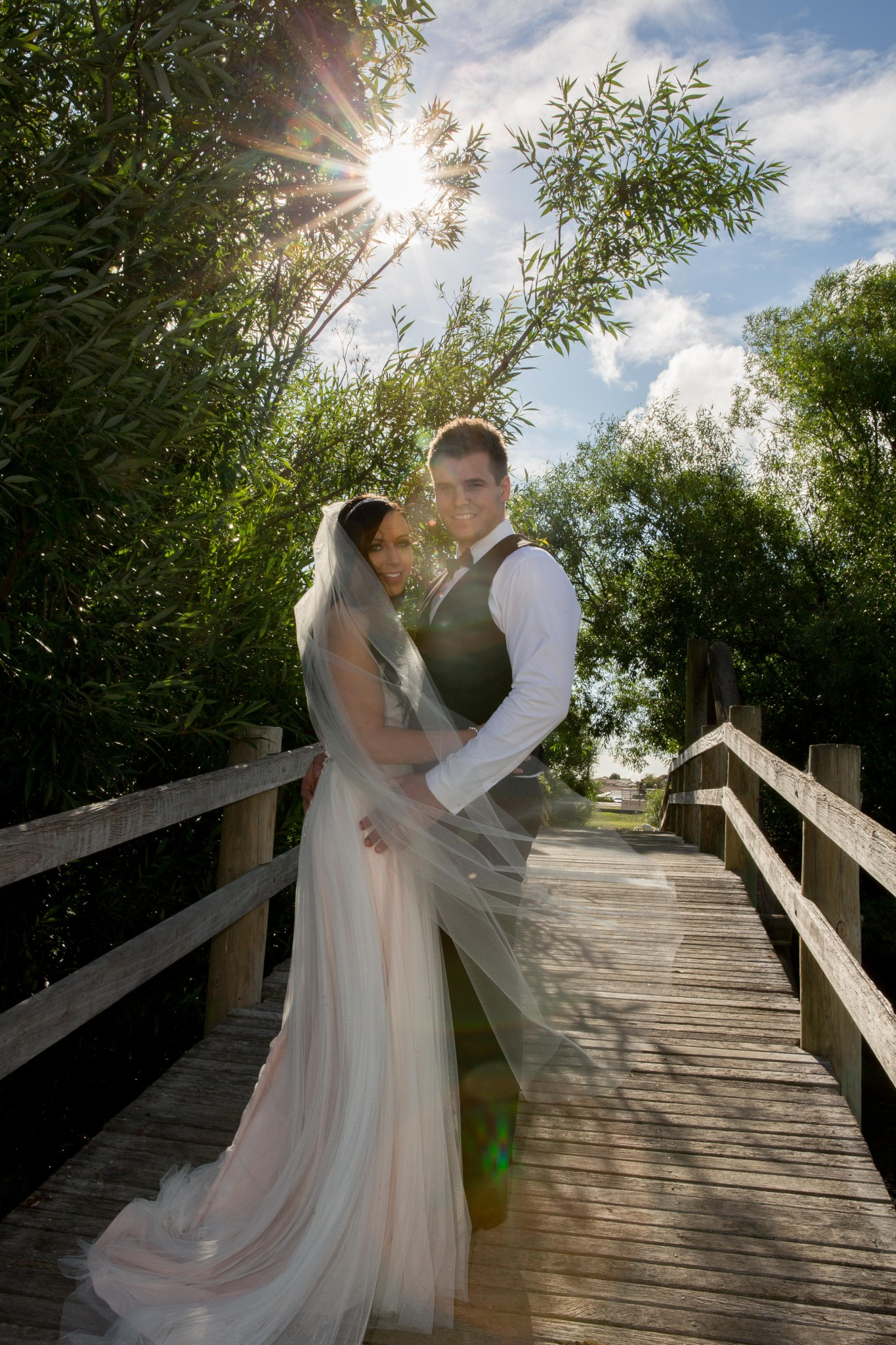 Stunning wedding couple Mornington Photo